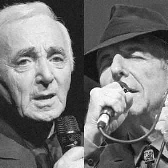 Hommage à Charles Aznavour et Leonard Cohen - WestmountMag.ca