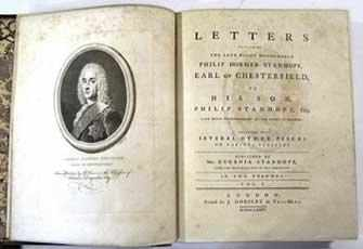 Book by the Earl of Chesterfield - WestmoutMag.ca