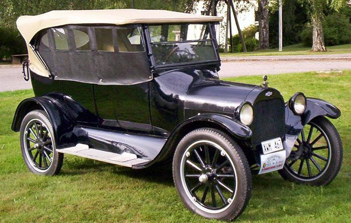 Chevrolet police car 1920s