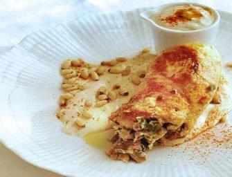 Amour et épices : Paupiettes <br>de poulet au tahini