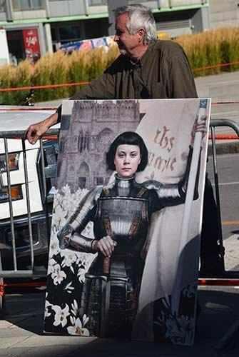 Greta as Joan of Arc - WestmountMag.ca