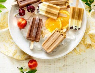 Des popsicles au café pour <br>une chaude journée d'été