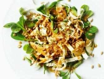 Amour et épices : Salade de <br>chou asiatique croquante