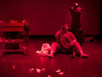 Young playwright/performers <br>featured in Double Bill