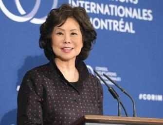 Elaine Chao on air travel safety, technology and the USMCA