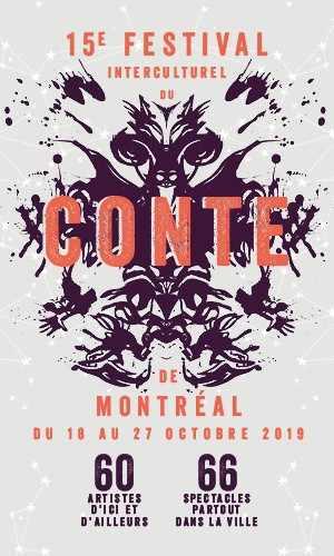 Festival interculturel du conte de Montréal - 18 au 27 octobre