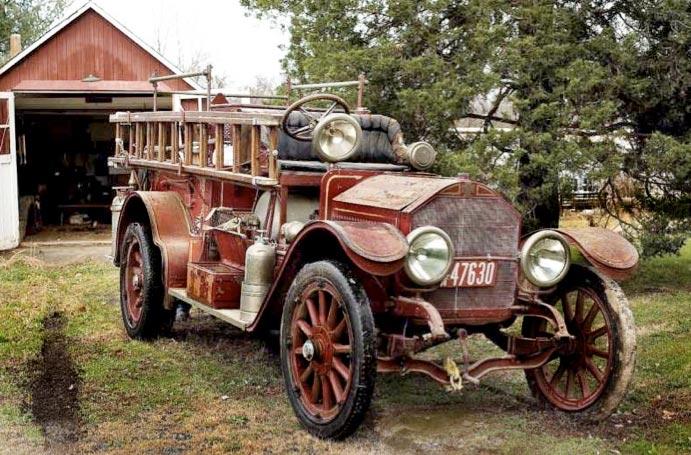 fire truck 1900s