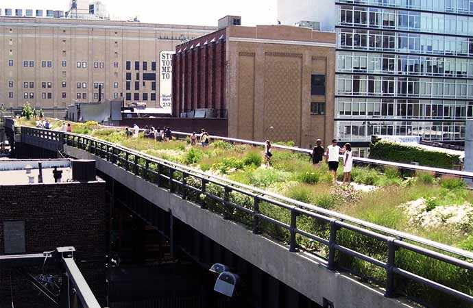 High LIne Park New York - WestmountMag.ca