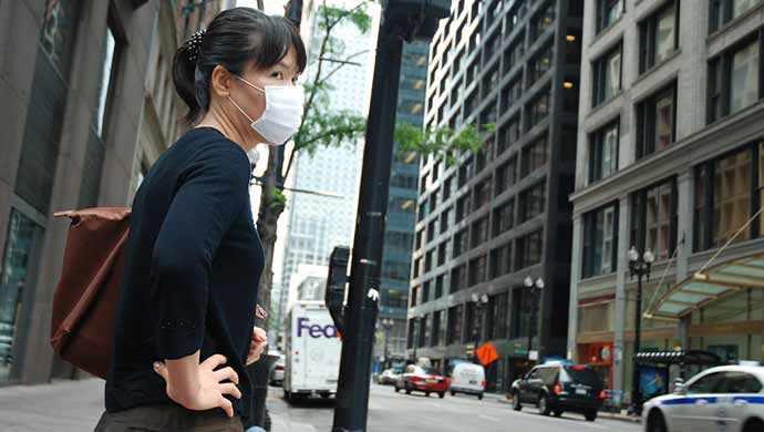 woman wearing mask - WestmountMag.ca