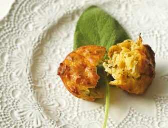 Amour et épices : Muffins à la <br>courge spaghetti sans gluten
