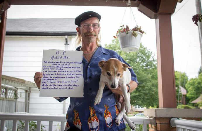 Humans of Basic Income Jessie Golem - WestmountMag.ca