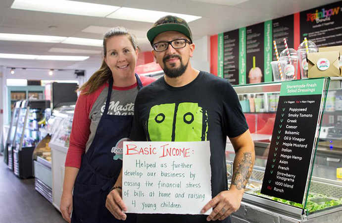 Humans of Basic Income Jessie Golem