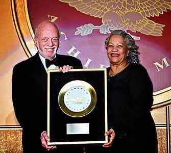 Harold Prince and Toni Morrison - WestmountMag.ca