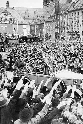 Hitler 1938 rally