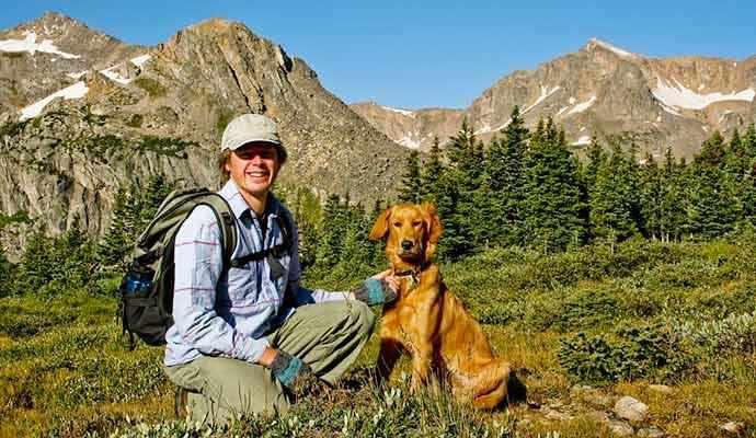 hiking with dog - WestmountMag.ca