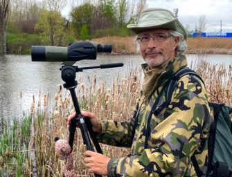 Explore bird watching <br>with Joël Coutu