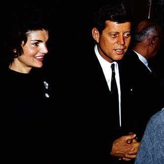 Jackie and John F. Kennedy - WestmountMag.ca