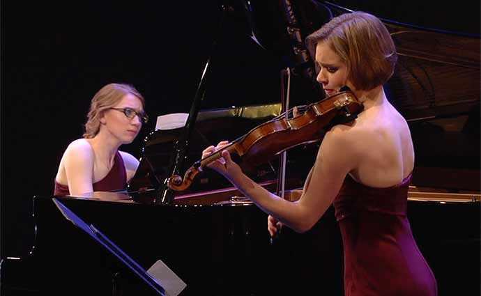 JMC - Jeunesses Musicales Canada - Jonctions : une sensibilité canadienne, 3 octobre 2019 - Amy Hillis, violon & Meagan Milatz, piano
