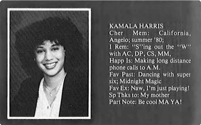 Kamala Harris Westmount High - WestmountMag.ca