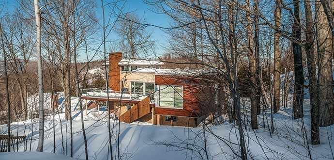 La Poudreuse - Architecture : Luc Plante, architecture + design – WestmountMag.ca
