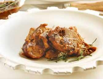 Amour et épices : <br>Épaule d'agneau à cuisson lente