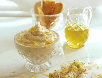 Love and Spices: <br>Lemony Lima Bean Hummus