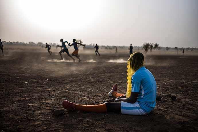 Les Gazelles de Gouandé – © Olivier Papegnies