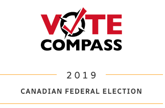 logo Vote Compass - Canadian federal elections