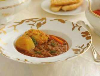 Amour et épices : <br>Soupe de poisson à la rouille