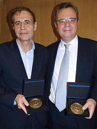 Matthieu Aron and Frédéric Pierucci