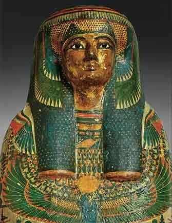 Momie de Tamut, Troisième Période intermédiaire, début de la 22e dynastie, vers 900 av. J.-C., EA 22939. © The Trustees of the British Museum – WestmountMag.ca