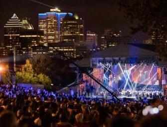 Free outdoor concerts <br>at the foot of Mount Royal