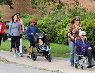 Walking for Parkinson's <br>in Ste-Anne-de-Bellevue