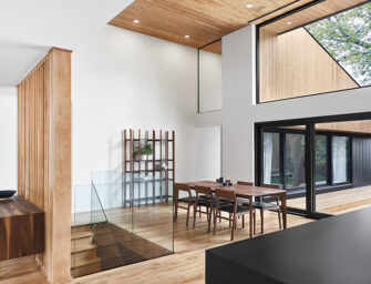 Pearl House, a home <br>with well-balanced spaces