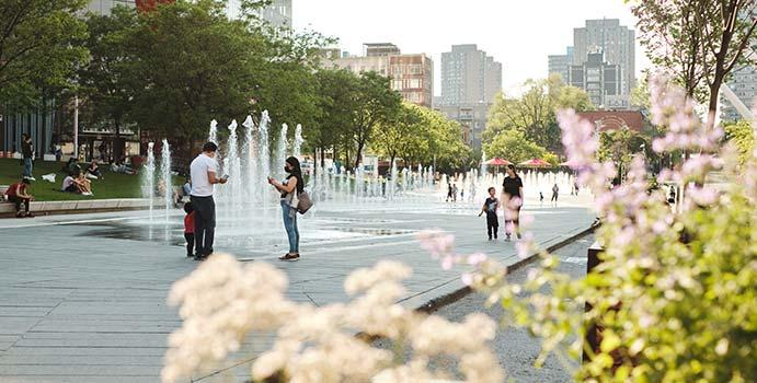 Place des festivals Montréal