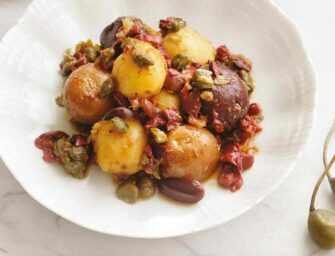 Amour et épices : Salade de <br>pommes de terre tricolore