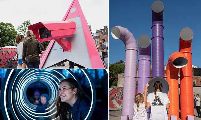 Installations interactives au Quartier des spectacles – WestmountMag.ca