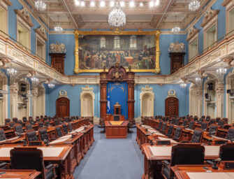 April's Bill 21 ruling <br>strikes a blow to Bill 40