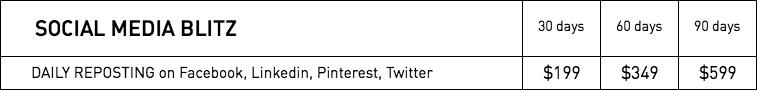 Rates - Social Media Blitz – WestmountMag.ca