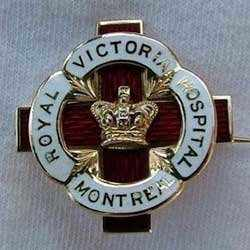 Royal Victoria Hospital Nurse's Graduation Pin (1941)