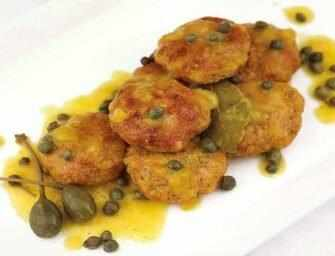 Love and Spices: Salmon Kefta with Saffron Lemon Sauce