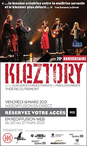 Le réputé quintette montréalais Kleztory en spectacle-lancement de leur sixième album Momentum au Théâtre Outremont