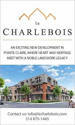 Le Charlebois, 286 chemin du Bord-du-Lac, Pointe-Claire QC – Koebra Development Corporation