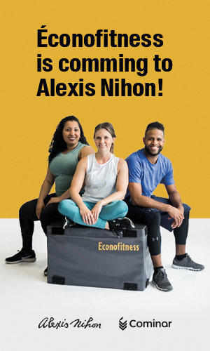 Ecofitness is coming to Alexis Nihon