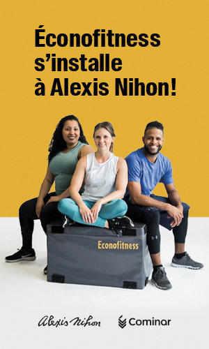 Écofitness s'installe à Alexis Nihon!