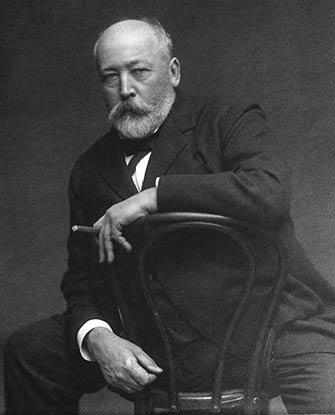 Wm. Notman & Son, Portrait of Sir William Van Horne, ca. 1905, gelatin dry plate. Purchase from Associated Screen News Ltd. © Musée McCord, Montreal