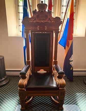 speaker's chair city hall - WestmountMag.ca