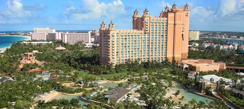 Reef at Atlantis hotel in the Bahamas