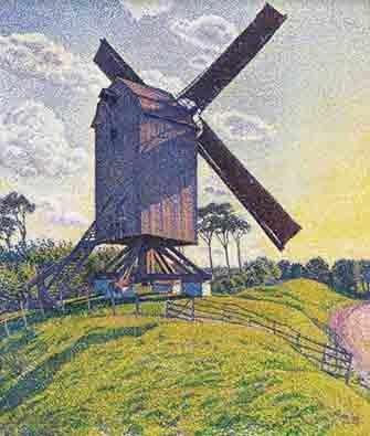 painting by Van Rysselberghe - WestmountMag.ca