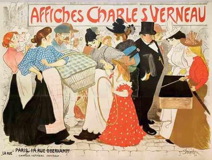 poster by Steinlen Larue - Westmountmag.ca